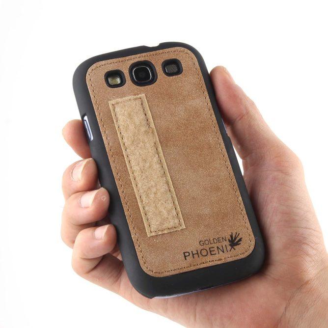 Golden Phoenix Samsung Galaxy S3 Mini Handy-Tasche Royal Backcover